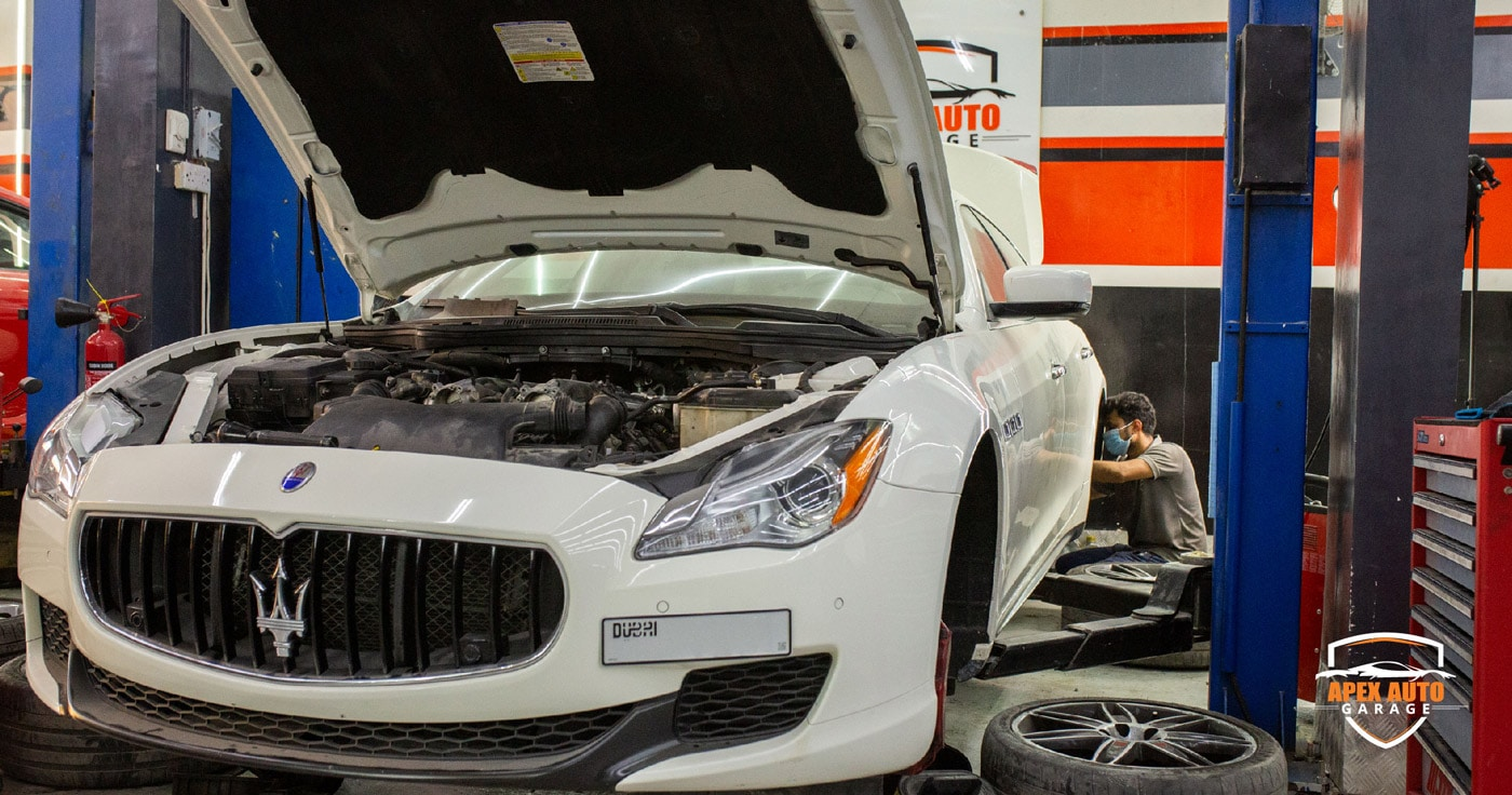 Maserati Repair Dubai